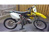 Suzuki rm 250 2 stroke