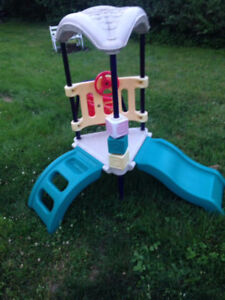 Children's play set with slide, ladder and swing $80