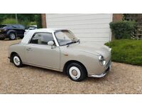 Gorgeous Nissan figaro with private plate