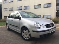 **VW POLO 2004 1.2L**- **LOW MILEAGE**- *HPI CLEAR**-** 5 DOOR**