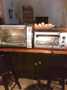 Toaster oven and toaster/convection oven