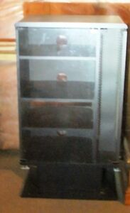 Black Stereo or TV Cabinet