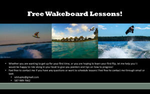 Free Wakeboard and Wakesurf Lessons!