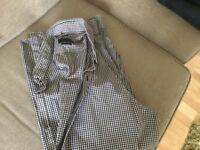 Zara man slim fit long sleeve shirt and top