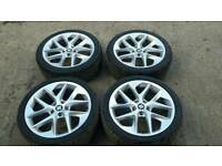 2012-2017 MK3 SEAT LEON FR 18 INCH ALLOYS ALLOY WHEELS WITH TYRES