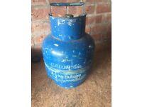 4.5 Kg calor Butane Gas Bottle, almost empty