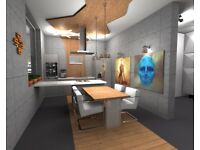 Interior Design 3D/ LIMITED OFFER £180 FOR ONE ROOM