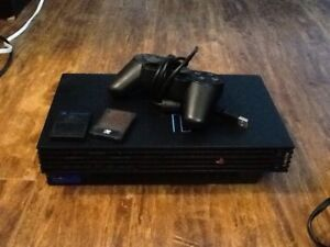 PS2 (not slim), eye toy and games