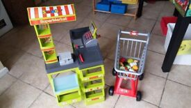 Children's Toy Shop with trolley