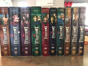 DVD - Smallville  // Coffret complet (S1-2-3-4-5-6-7-8-9-10)
