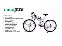 Electric Folding Bike Go Go Jedi Available in two colours
