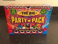 The Big Party Pack 20 CD collection