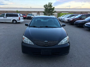 2002 Toyota Camry  CERTIFIED, E TESTED, WARRANTY,
