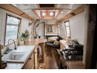 54ft Narrow Boat with Beautiful Bespoke Interior