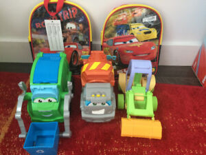 Play Doh Cars and CAR Back Pack