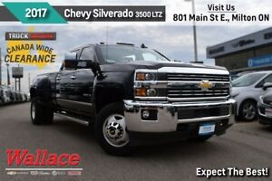 2015 Chevrolet SILVERADO 3500HD LTZ/ACCIDENT FREE/1-OWNER/6.6L V