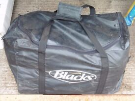 Blacks two man Bivouac Tent with underlay and sleeping bags - never used