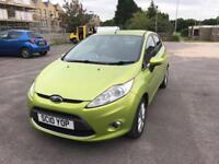 Ford Fiesta Zetec 1.2 Petrol 2010 Low Mileage With 1 Year MOT IMmaculate Condition
