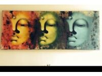 Large funky canvas art