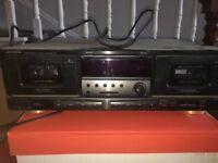 AIWA double tape deck