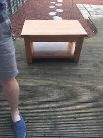 Solid Pine Coffee Table £50