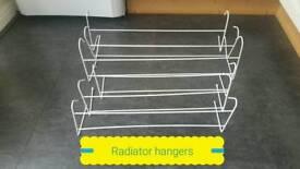 Radiator hangers