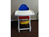High Chair clean and good condition