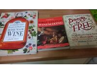 HOME BREW AND WINE MAKING BOOKS