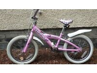 "Girls bike - Trek 16"" wheels"