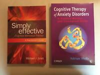 2x Cognitive Counselling books (New)