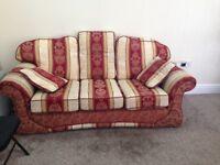 sofa excellent condition 3+3+1