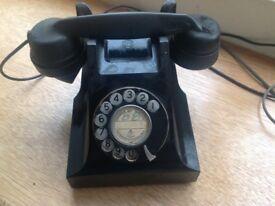 Antique Bakelite phone