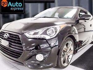 2015 Hyundai VELOSTER Turbo with NAV, sunroof, back up cam, heat