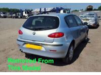 ALFA ROMEO 147 T SPARKS 1.6 PETROL BLUE BREAKING FOR ALL PARTS