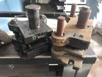 Various sprung punches and holders