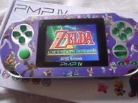 Handheld 32-bit games console. GBA Megadrive Snes games built in