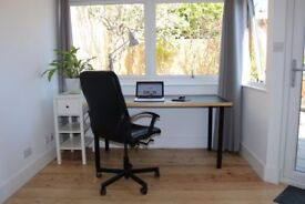 Private Desk to work from In Brighton / meetings / Group Projects Available Daily £20