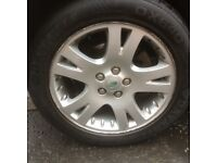 Range Rover Sport 19 alloy wheels good tyres