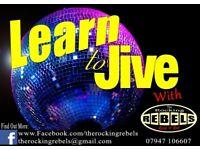 Learn to Jive every Wednesday High Wycombe / Marlow Buckinghamshire