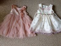 Baby girl occasionwear dresses 6 - 9 months