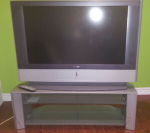 Sony analog projection with table stand