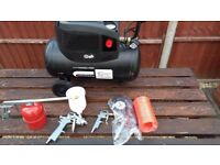 SIP Air Compressor with tools - £50