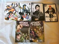 Assorted Manga Bundle (2 Books From 3 Great Series)