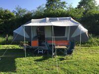Opus Folding Camper Trailer Tent Full Monty Spec 2015