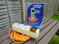 SunnCamp MA5050 Mobile Mains Power Unit - Mains Electricity For Tents