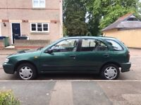 Nissan Almera 1998 (very low mileage) ONO