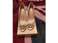 Jenny Packham Bridal Shoes Size 6