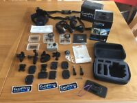 GoPro Hero 2 HD with a ton of accessories