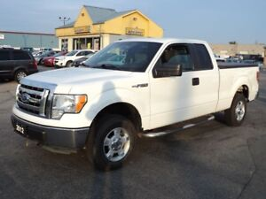 2012 Ford F-150 XLT SuperCab 4X4 5.0 L 6ft Box