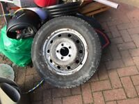 Vauxhall Movano Spare Wheel